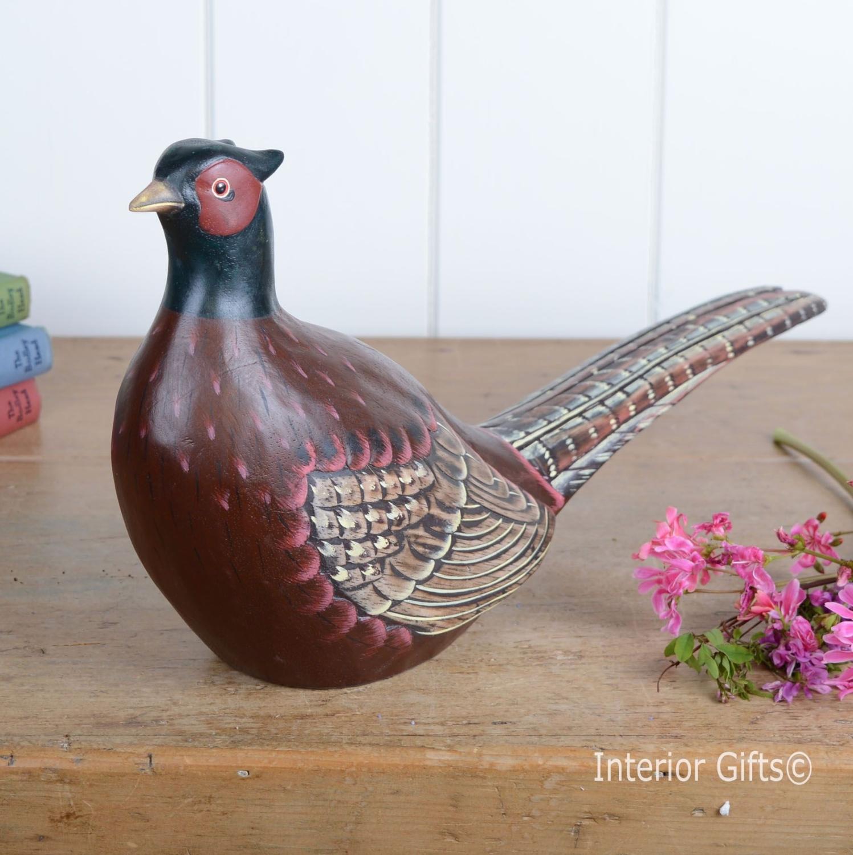 Archipelago Pheasant D190 Wood Carving Game Bird Wildlife
