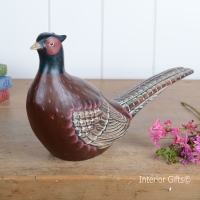 Archipelago Pheasant Wood Carving
