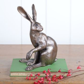 Hattie Hare Frith Bronze Sculpture by Paul Jenkins