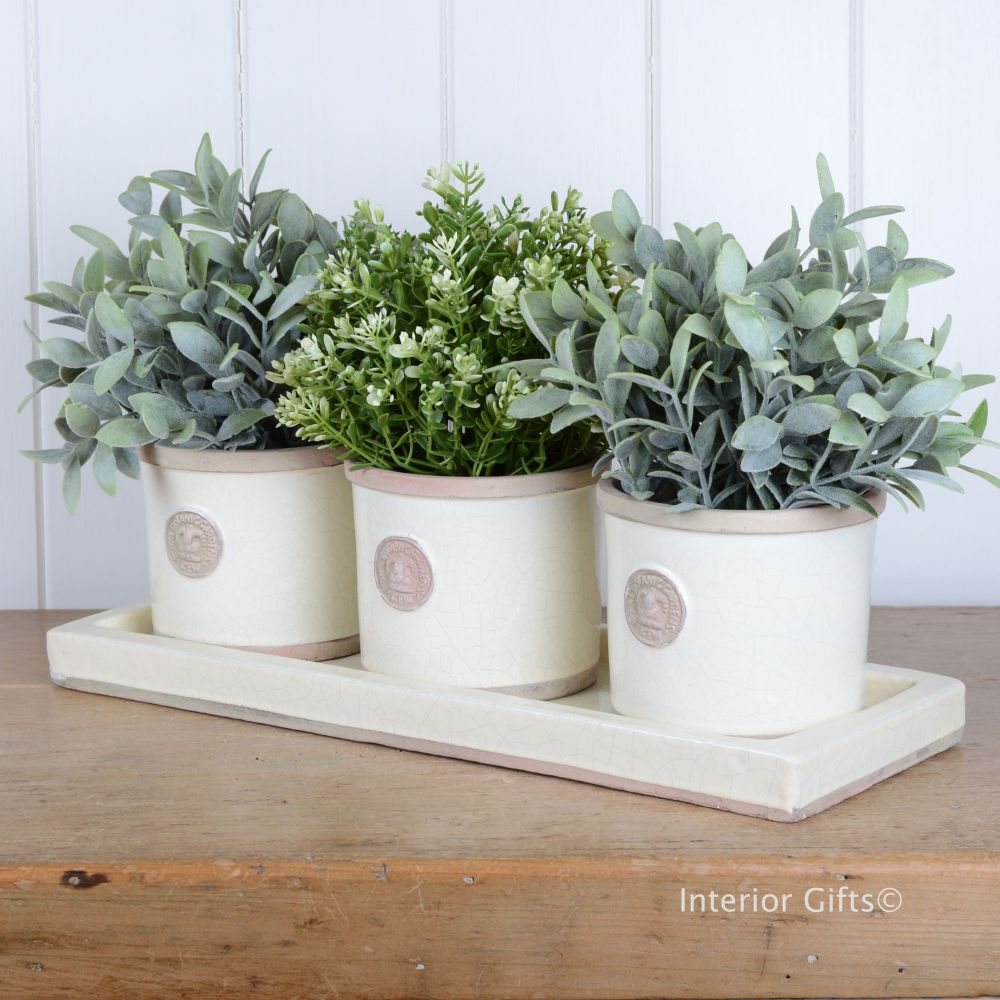 Herb Pots & Water Trays