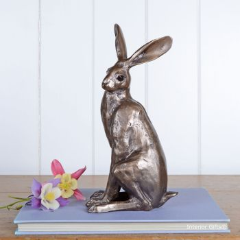 Hugo Hare Frith Bronze Sculpture by Paul Jenkins