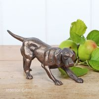 Seeking Pheasants Bronze Gun Dog by Frith Sculpture