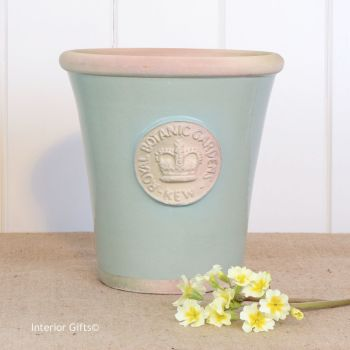 Kew Long Tom Pot in Chartwell Green - Royal Botanic Gardens Plant Pot - Medium