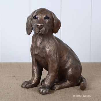 TOTO Puppy Dog in Bronze by Frith Sculpture