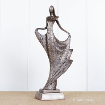Strictly Just Dance' Bronze Dancing Girl by Frith Sculpture