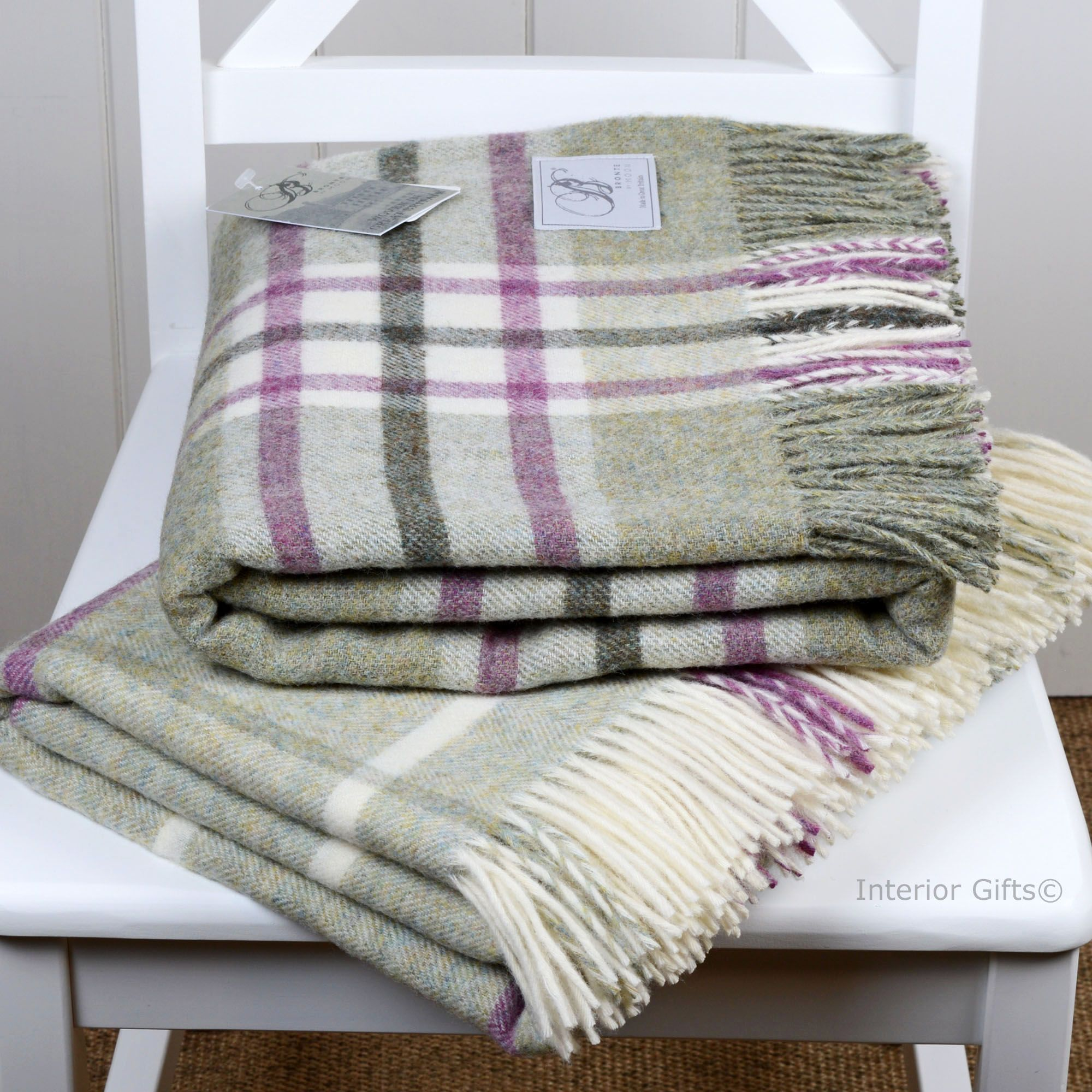 Bronte Throws in Country House Styles