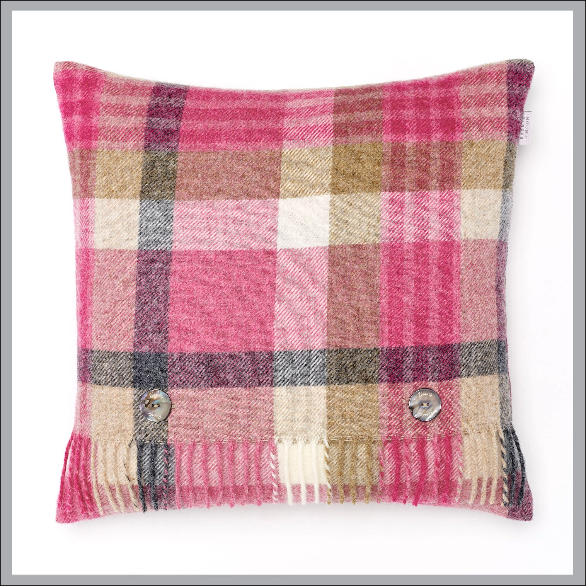 BRONTE CUSHIONS PURE NEW WOOL OR LAMBSWOOL