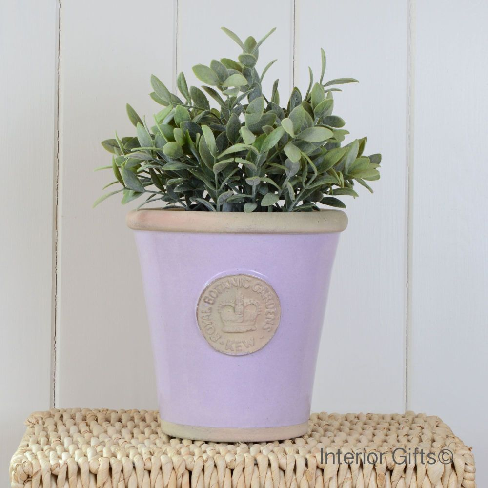 Kew Long Tom Pot in Lavender - Royal Botanic Gardens Plant Pot - Medium