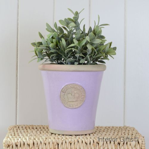 Kew Long Tom Pot in Lavender - Royal Botanic Gardens Plant Pot - Medium