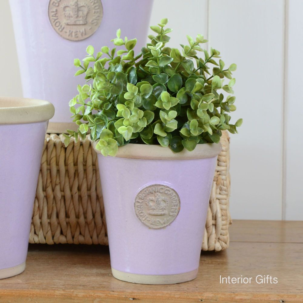 Kew Long Tom Pot in Lavender - Royal Botanic Gardens Plant Pot - Small