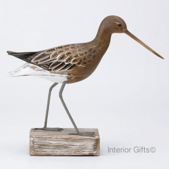 Archipelago Godwit Straight Bird Wood Carving