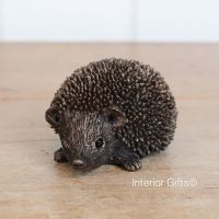Frith Squeak Junior Hedgehog Bronze Sculpture by Thomas Meadows