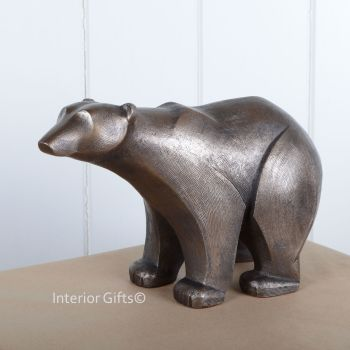 POLAR BEAR Standing Frith Sculpture by Adrian Tinsley