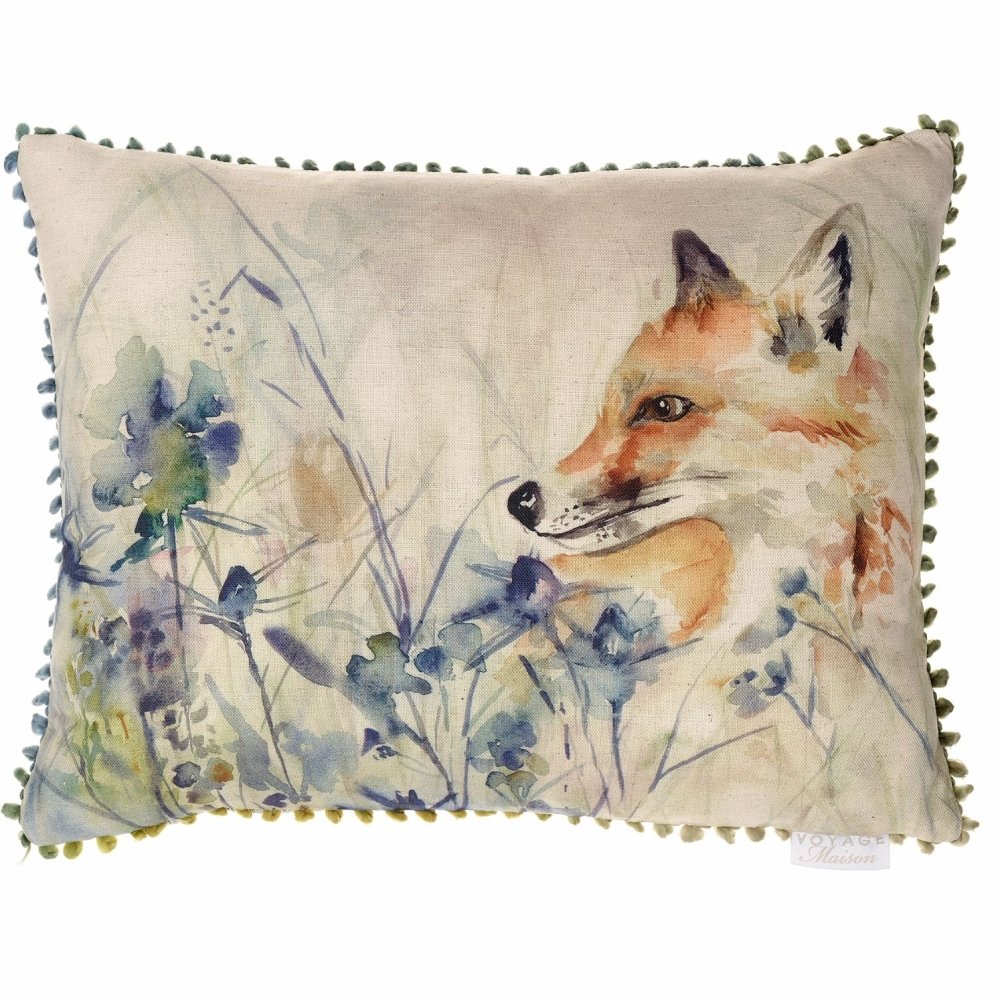 Hide & Seek Fox Country Cushion - Voyage Maison - 40 x 50 cm