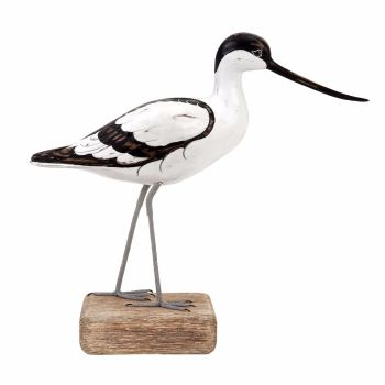 Archipelago Avocet Walking Bird Wood Carving