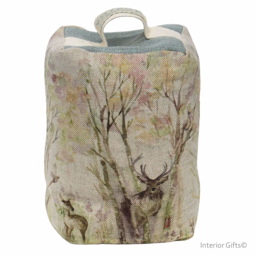 <!--003-->Stag in Enchanted Forest Door Stop - Voyage Maison