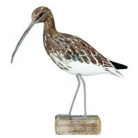 Archipelago Curlew Walking Bird Wood Carving
