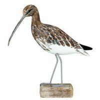 Archipelago Curlew Walking Bird Wood Carving