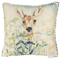 Voyage Fawn Square Country Cushion - 50 x 50 cm