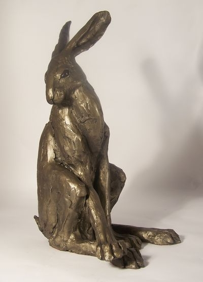 Hector Hare Frith Bronze Sculpture by Paul Jenkins
