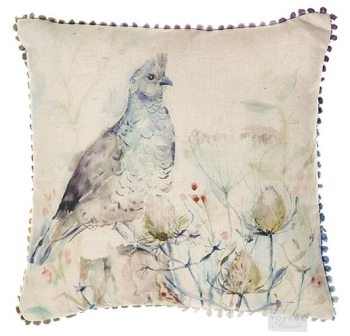 Voyage Lomond Quail Country Cushion - 43 x 43 cm