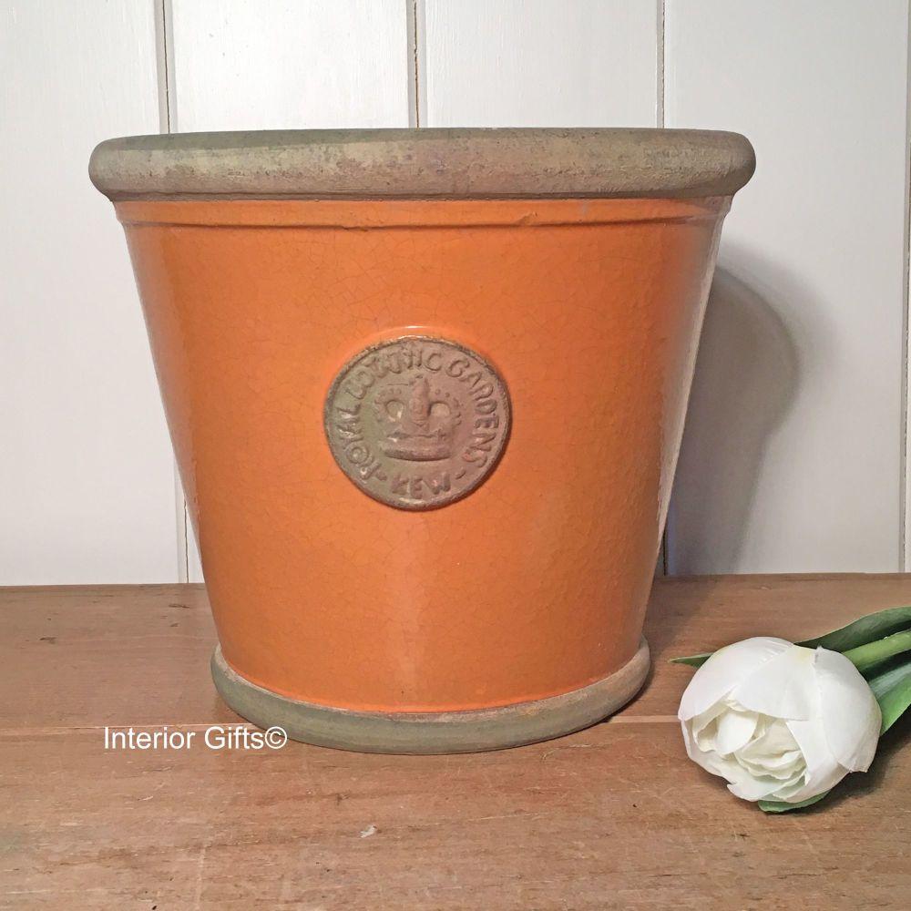 Kew Orangery Pot Burnt Sand - Royal Botanic Gardens Plant Pot - 23 cm H