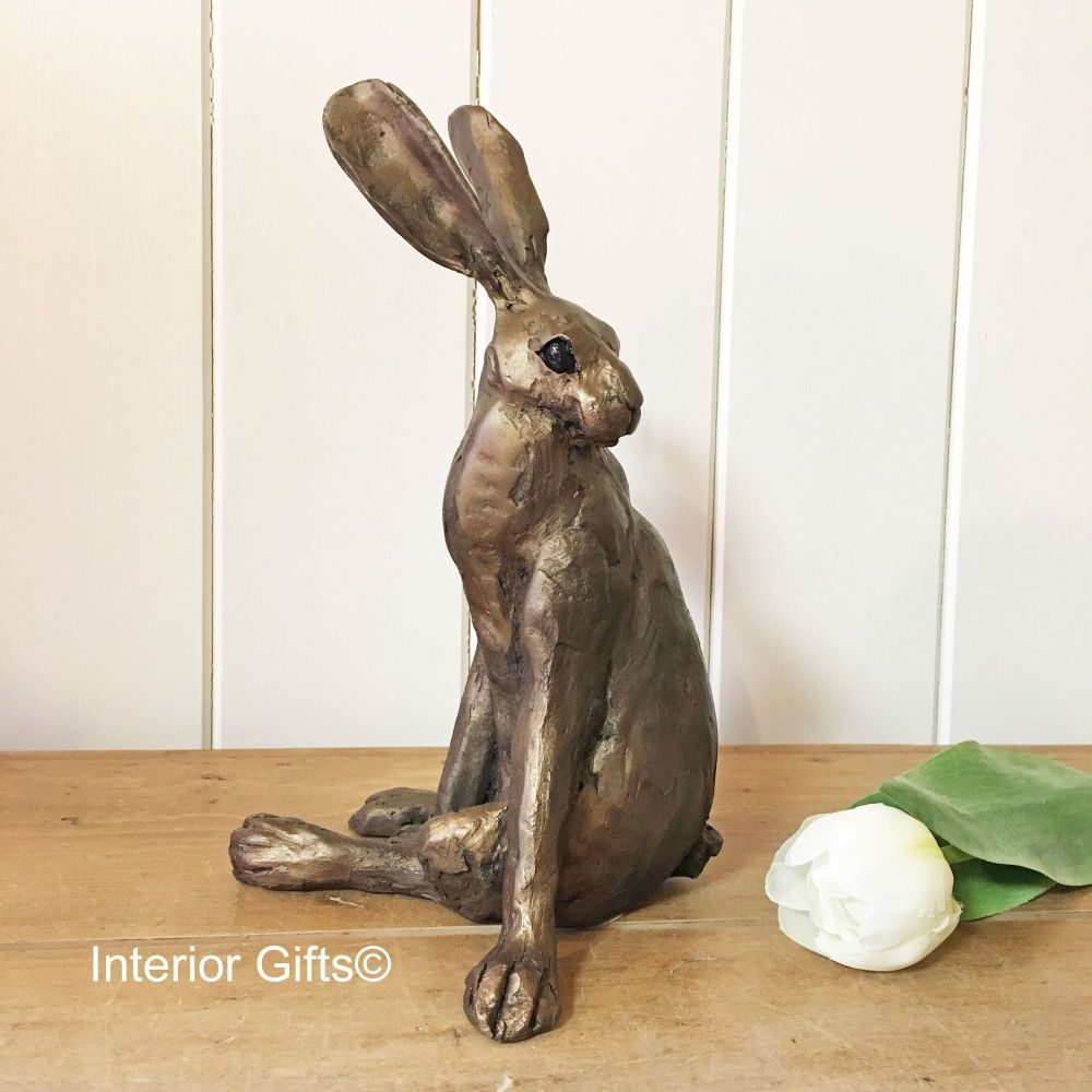 Hartpury the Gloucestershire Hare Frith Bronze Sculpture by Paul Jenkins