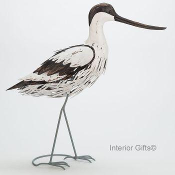 Archipelago Avocet Standing - Metal Garden Bird Sculpture