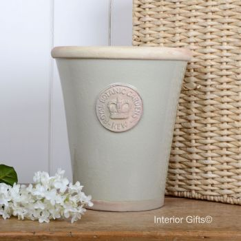Kew Long Tom Pot in Richmond Green - Royal Botanic Gardens Plant Pot - Large