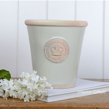 Kew Long Tom Pot in Richmond Green - Royal Botanic Gardens Plant Pot - Medium
