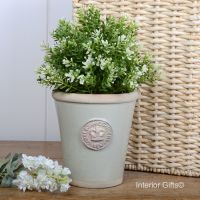 Kew Long Tom Pot in Richmond Green - Royal Botanic Gardens Plant Pot - Small