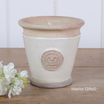 KEW Royal Botanic Gardens Candle in Ivory Cream - Small