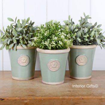 Kew Three Large Herb Pots - Royal Botanic Gardens - Chartwell Green