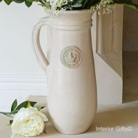 Kew Royal Botanic Gardens Flower Jug in Oyster - Tall