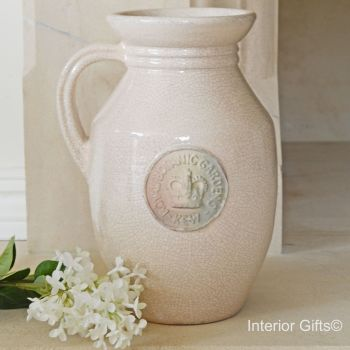 Kew Royal Botanic Gardens Flower Jug in Oyster
