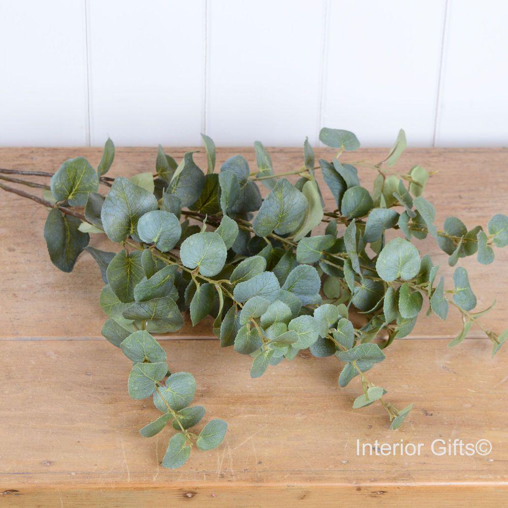 Faux Eucalyptus Stem 76 cm