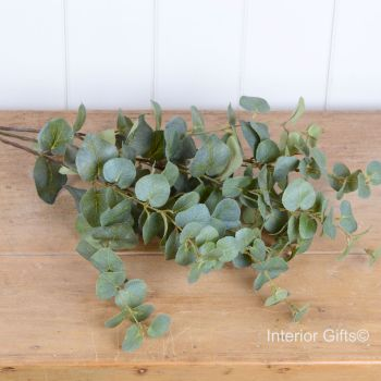 Faux Eucalyptus Bushy Spray 76 cm
