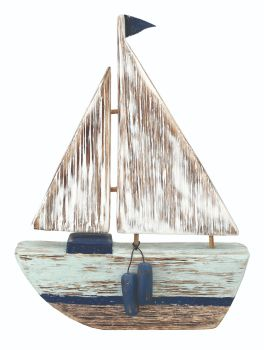 Archipelago Full Rig Yacht Wood Carving