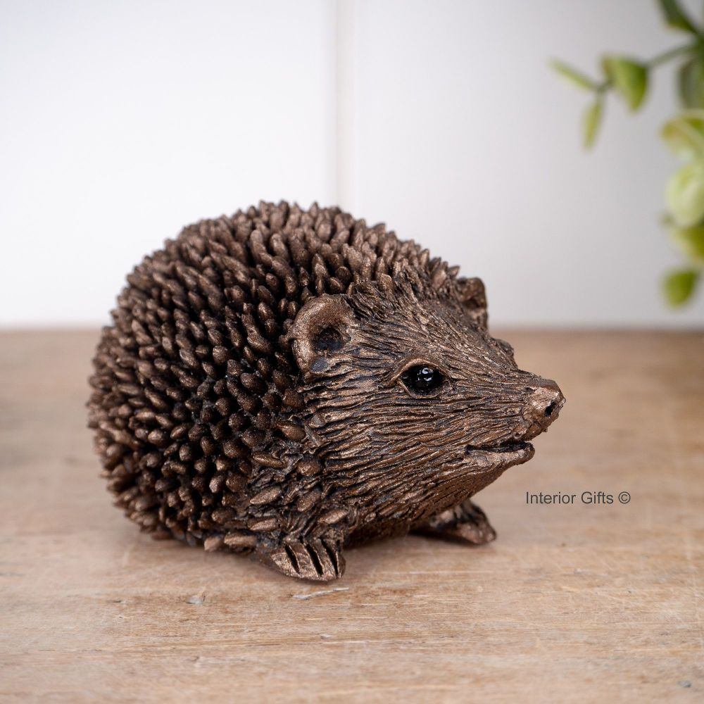 Frith Prickly Hoglet Miniature Bronze Sculpture *NEW* by Thomas Meadows