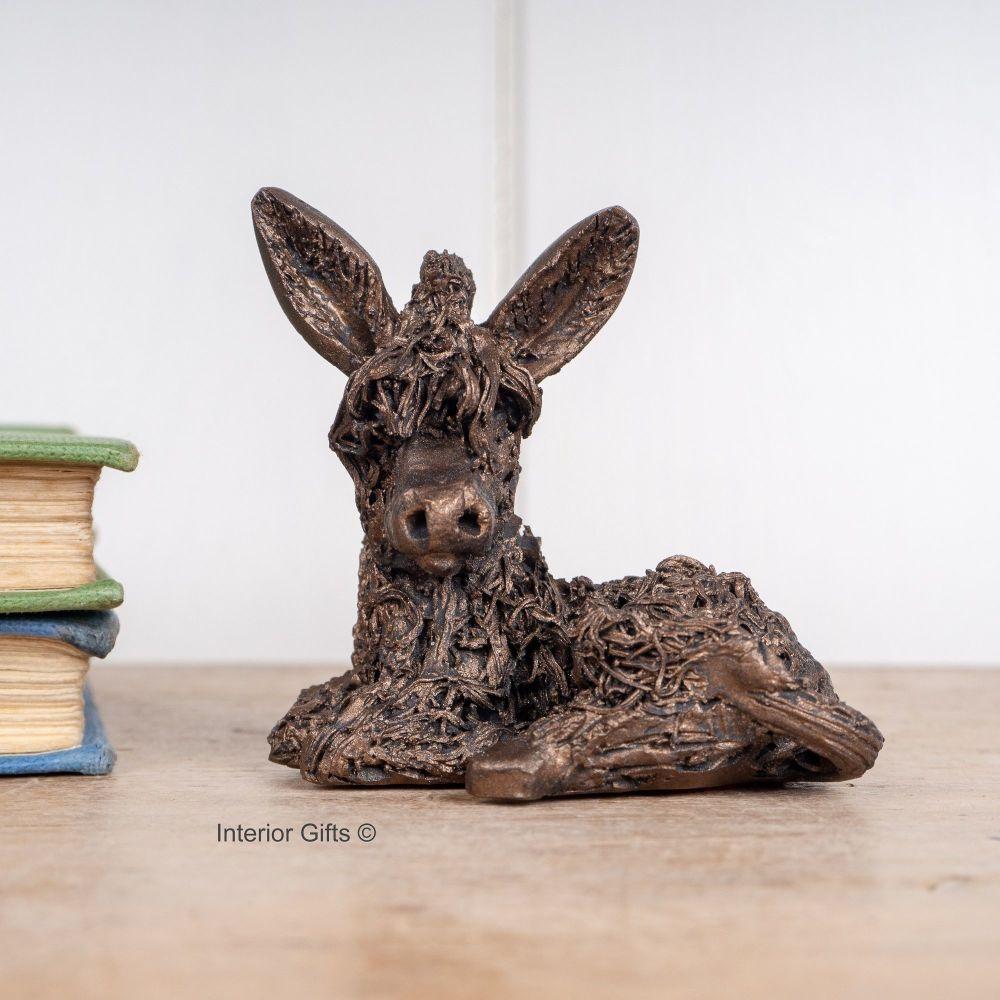 DUSTY DONKEY Frith Bronze Sculpture  Miniature *NEW* by Veronica Ballan