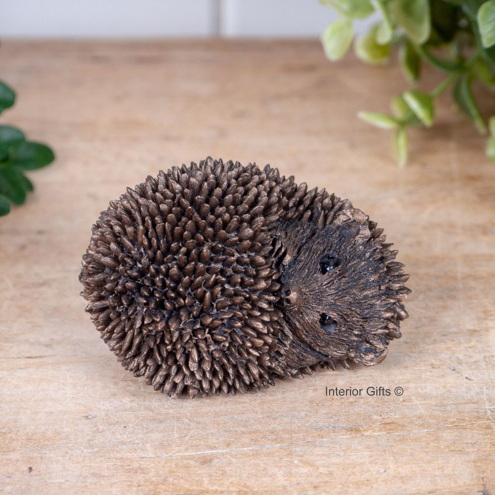 Frith Baby Sleeping Hoglet Miniature Bronze Sculpture *NEW* by Thomas Meado