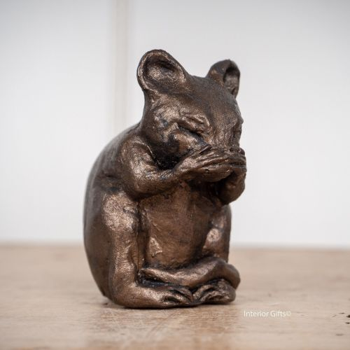 Frith Mortimer Mouse Bronze Sculpture by Paul Jenkins