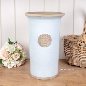 Kew Royal Botanic Gardens Florist Flower Vase in Duck Egg Blue - Large 37cm H