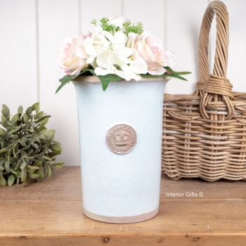 Kew Royal Botanic Gardens Florist Flower Vase in Duck Egg Blue - Small 25.5 cm H