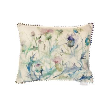 Voyage Damson Bristle Country Mini Arthouse Cushion Small - 25 x 35 cm