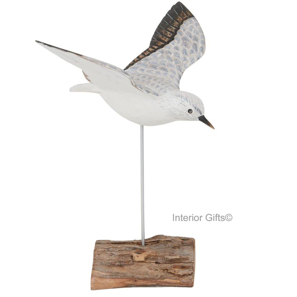 Archipelago Sanderling  Flying  Wood Carving