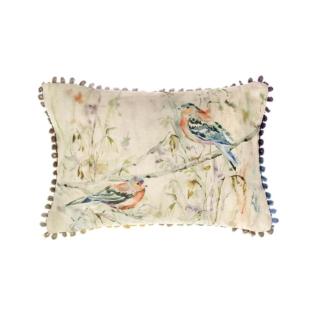 Voyage Chaffinch Mini Arthouse Cushion Small  - 30 x 30 cm