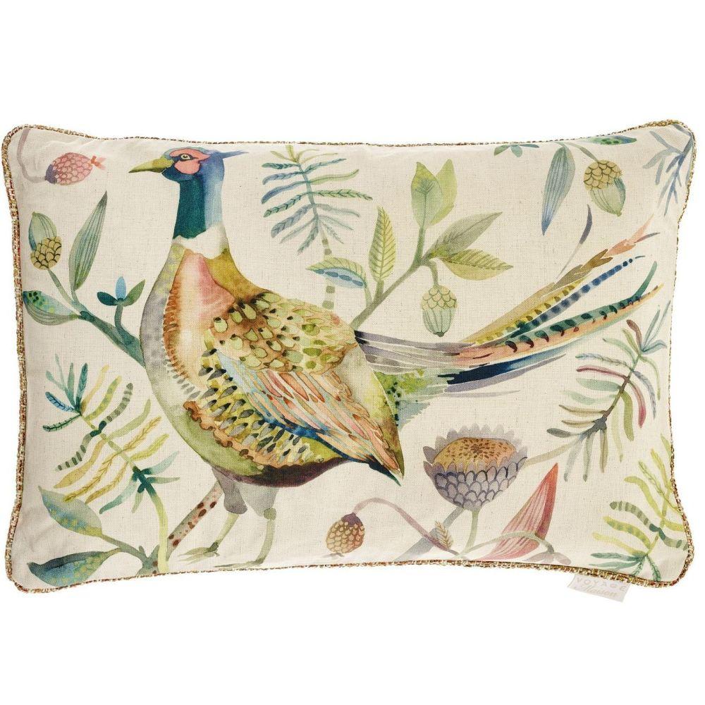 Voyage Pheasant Autumn Rectangular Tiverton Cushion - 40 x 60cm