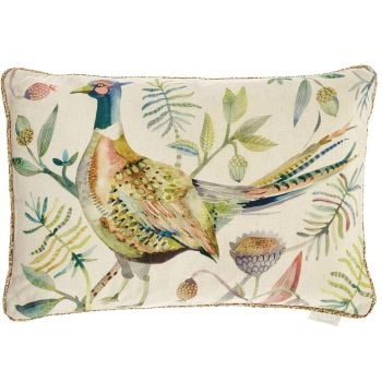 Voyage Pheasant Autumn Rectangular Tiverton Cushion - 40 x 60cm