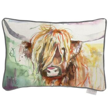 Voyage Bruce Highland Cow Rectangular Country Cushion 40 x 60cm